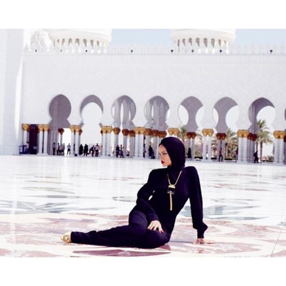 Rihanna fa infuriare i musulmani