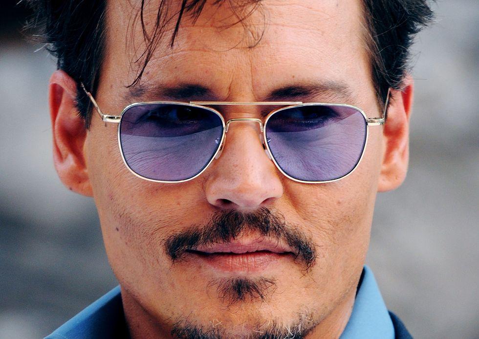 Johhny Depp sbaglia look