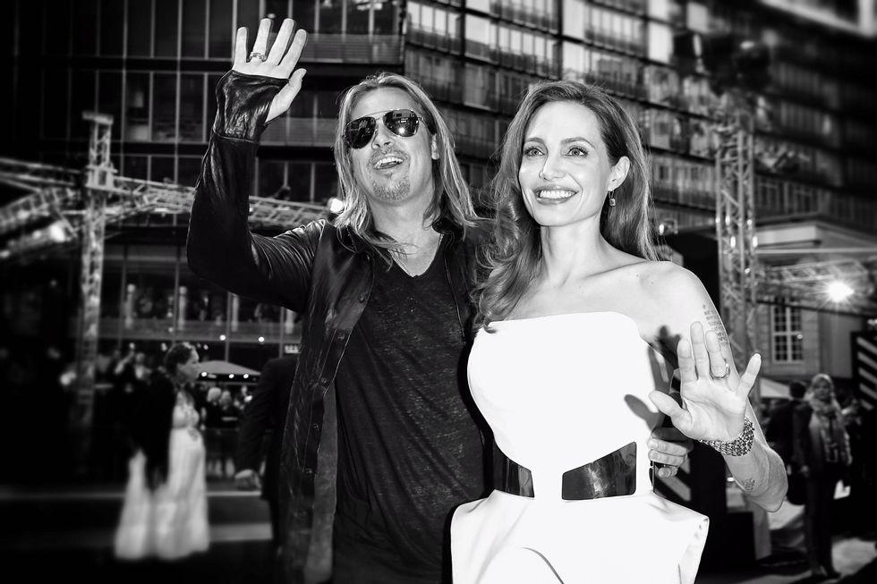 Brad Pitt puzza, parola di Angelina