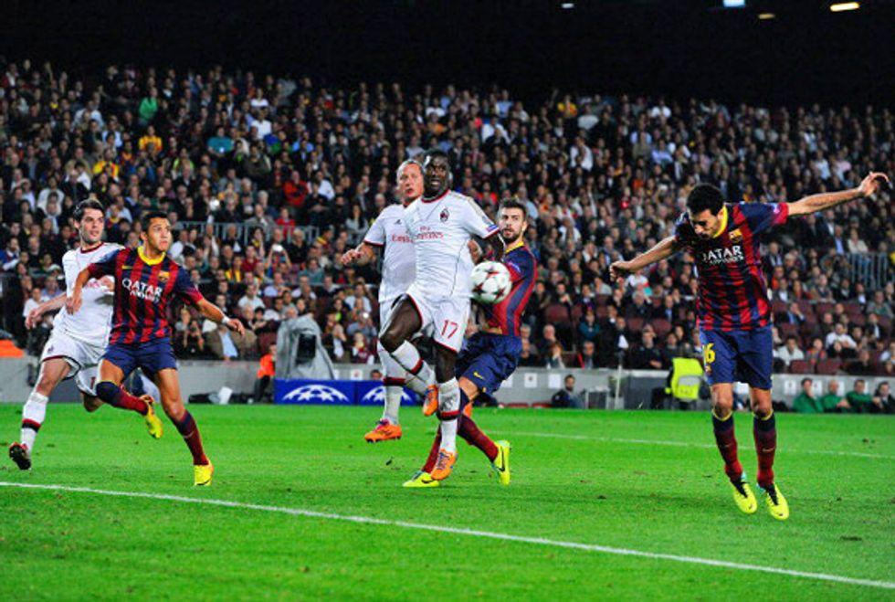 """Ascolti 6-11: il Milan soffre con """"Affari tuoi"""", ma poi dilaga"""