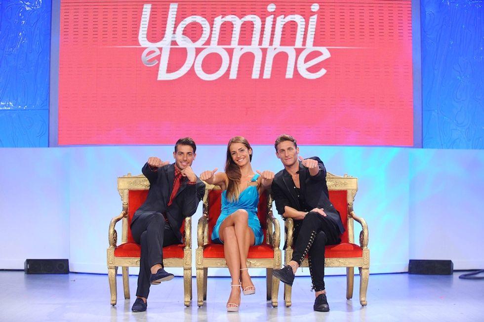 Uomini e Donne 2013, scoppia la lite tra Aldo e Tommaso