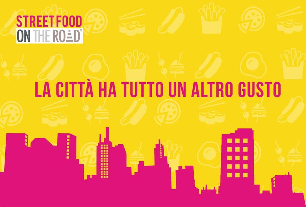 Street Food on the road a Milano