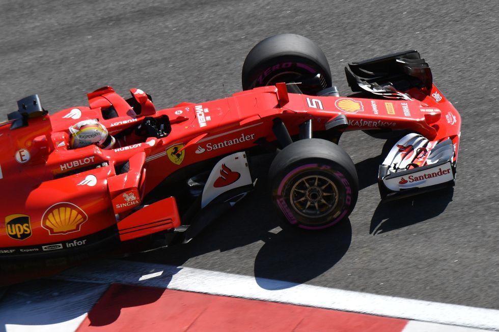 Ferrari Gp Russia Sochi Vettel Raikkonen