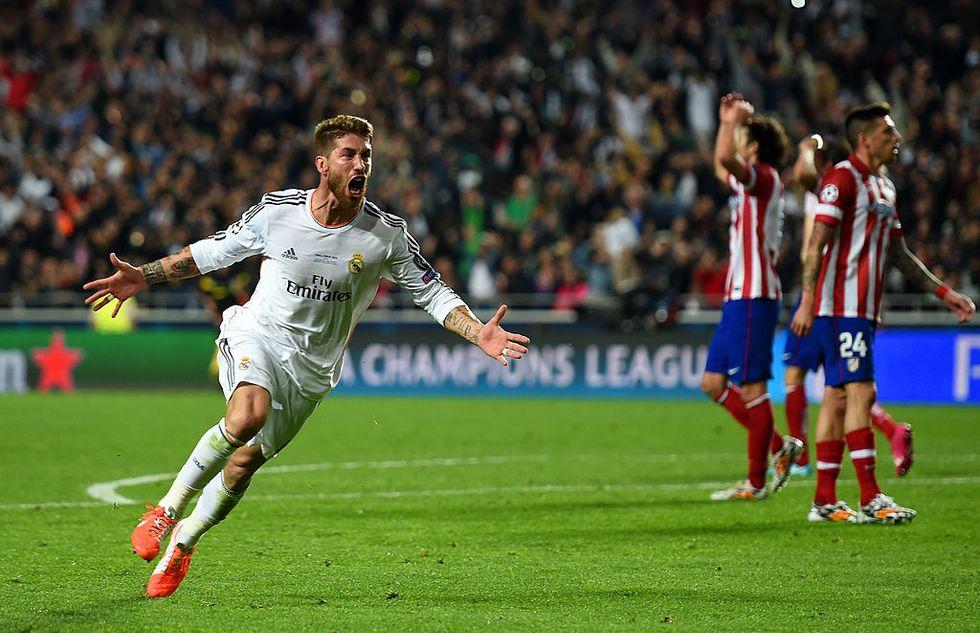 Real Madrid v Atletico de Madrid - UEFA Champions League semifinale
