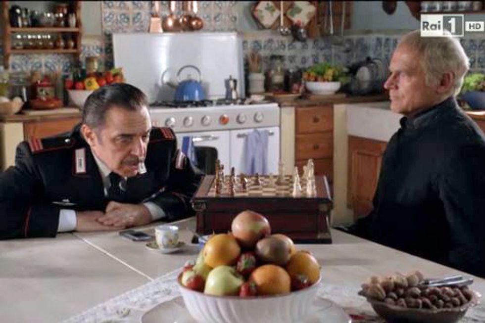 Don Matteo Terence Hill e Nino Frassica