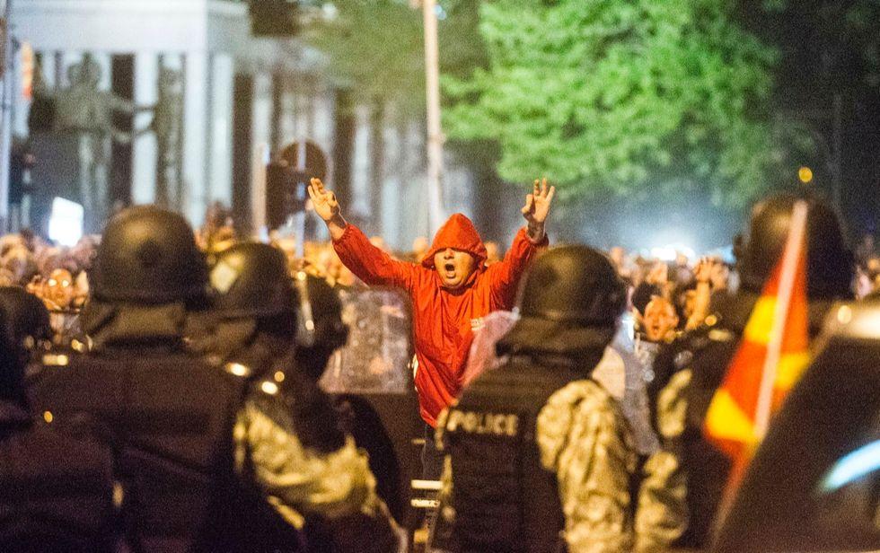 macedonia-scontri