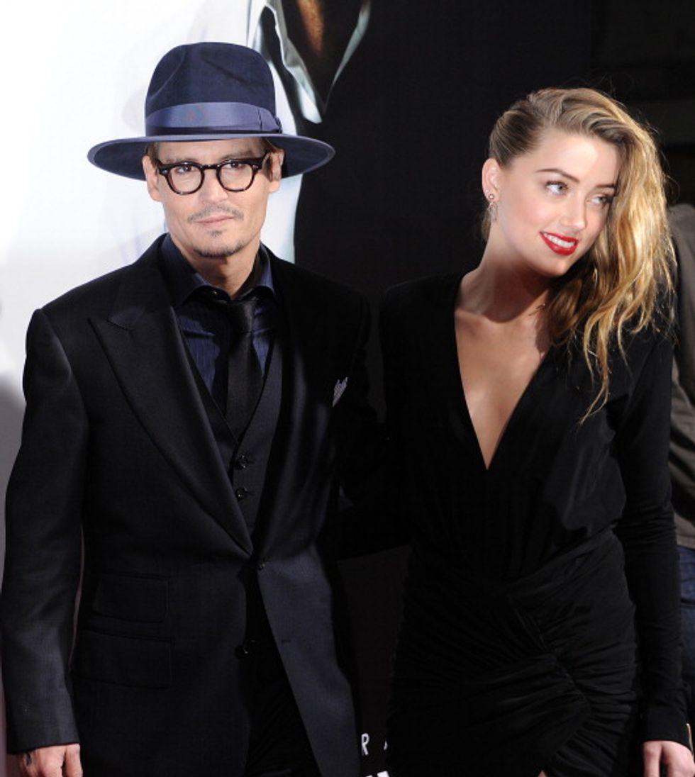 Johnny Depp si sposa e invita la sua ex