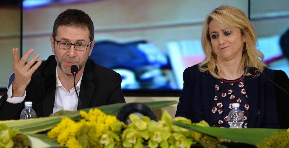 Sanremo 2014, la seconda serata con Baglioni, Santamaria e Franca Valeri