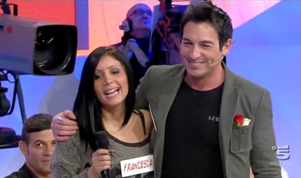 Uomini e Donne 2014: è amore tra Guido e Francesca, lite tra Gemma e Barbara
