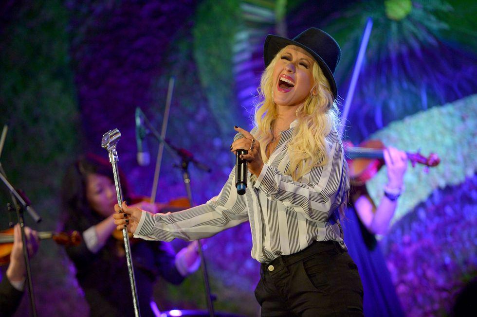 Christina Aguilera è di nuovo incinta
