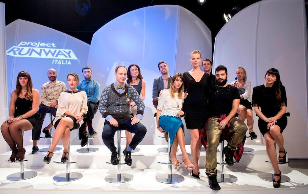 Project Runway Italia: da stasera il talent sulla moda condotto dalla Herzigova