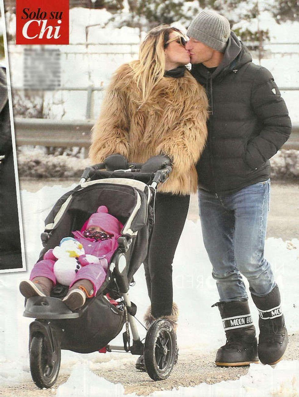 Ilary Blasi e Francesco Totti, mini luna di miele con i figli