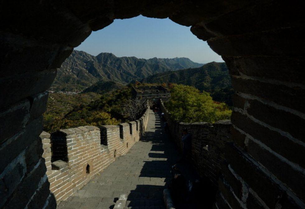 Graffiti sulla muraglia cinese, ora si può