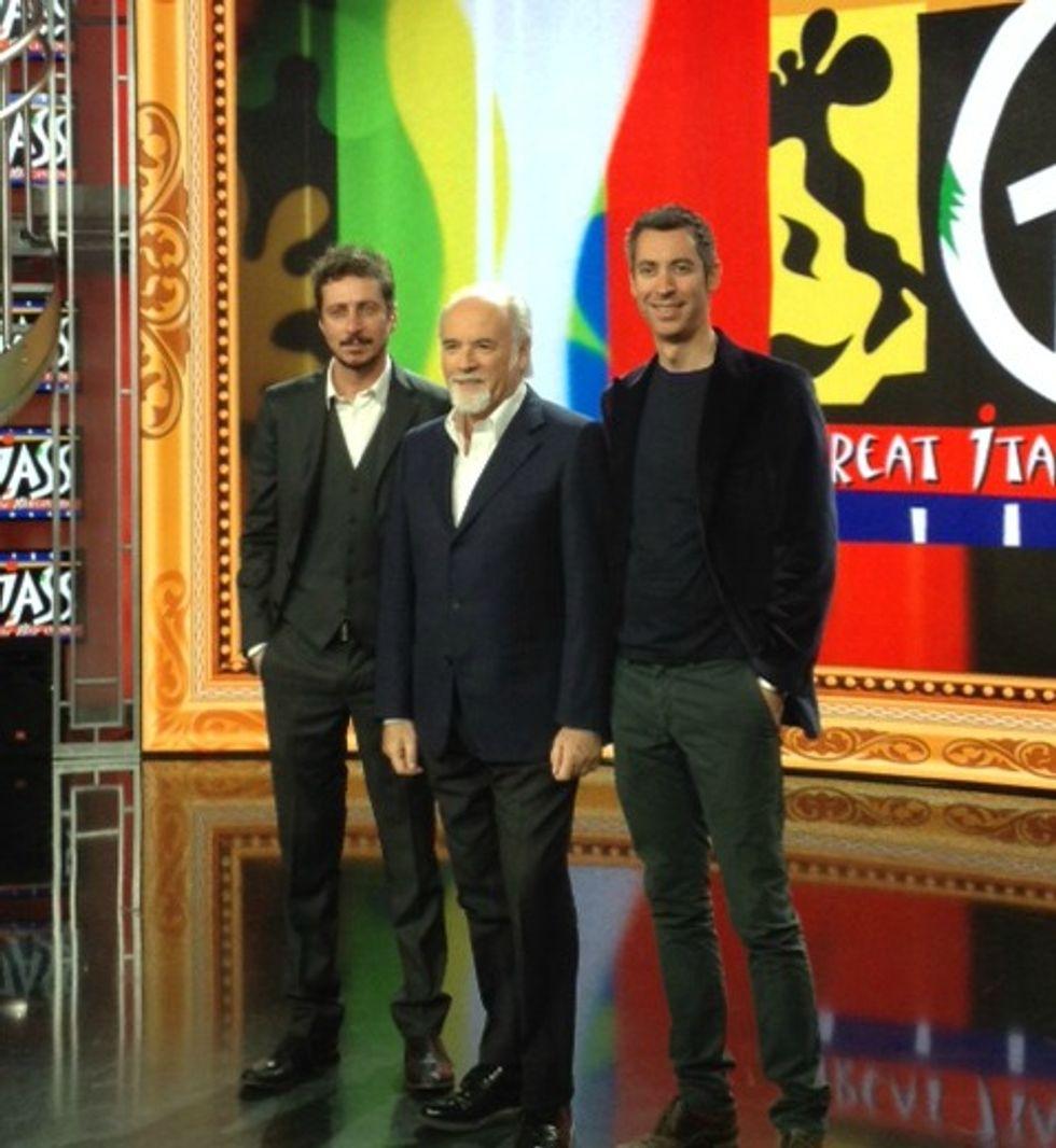 Arriva Giass, il nuovo varietà di Antonio Ricci