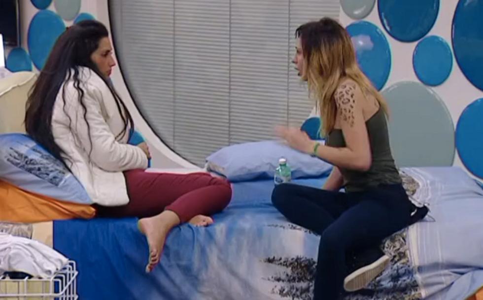 Grande Fratello 13: tensione tra Angela e Francesca, Andrea contro Chicca