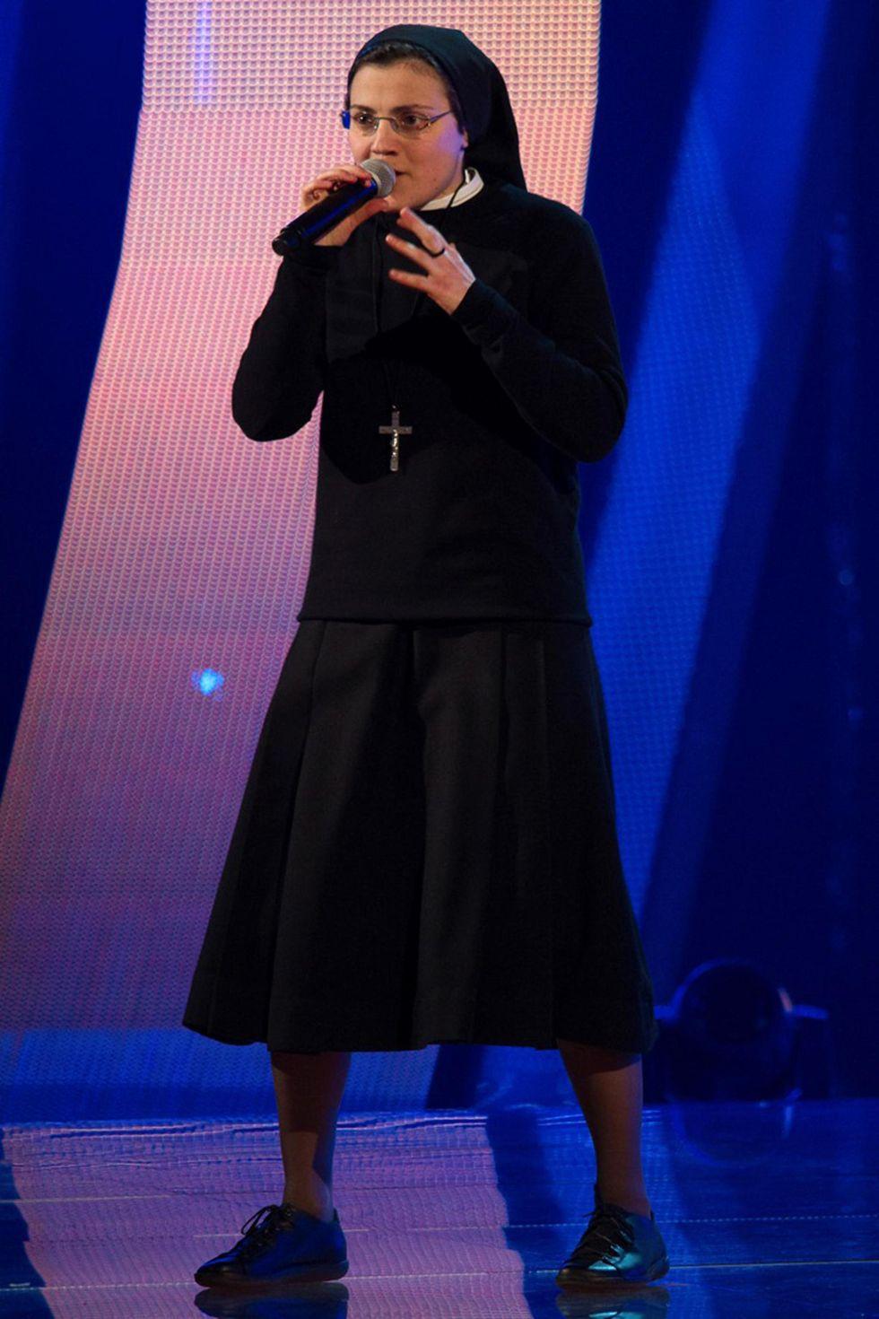 Suor Cristina, l'icona pop della Chiesa che cambia