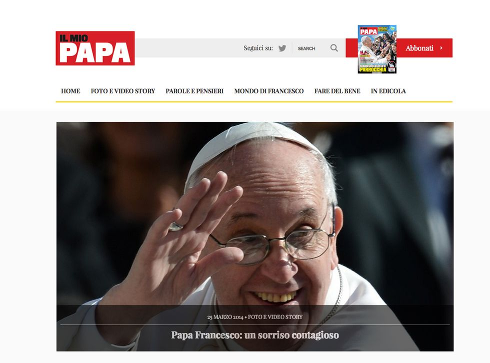 Il magazine di Papa Francesco arriva anche online
