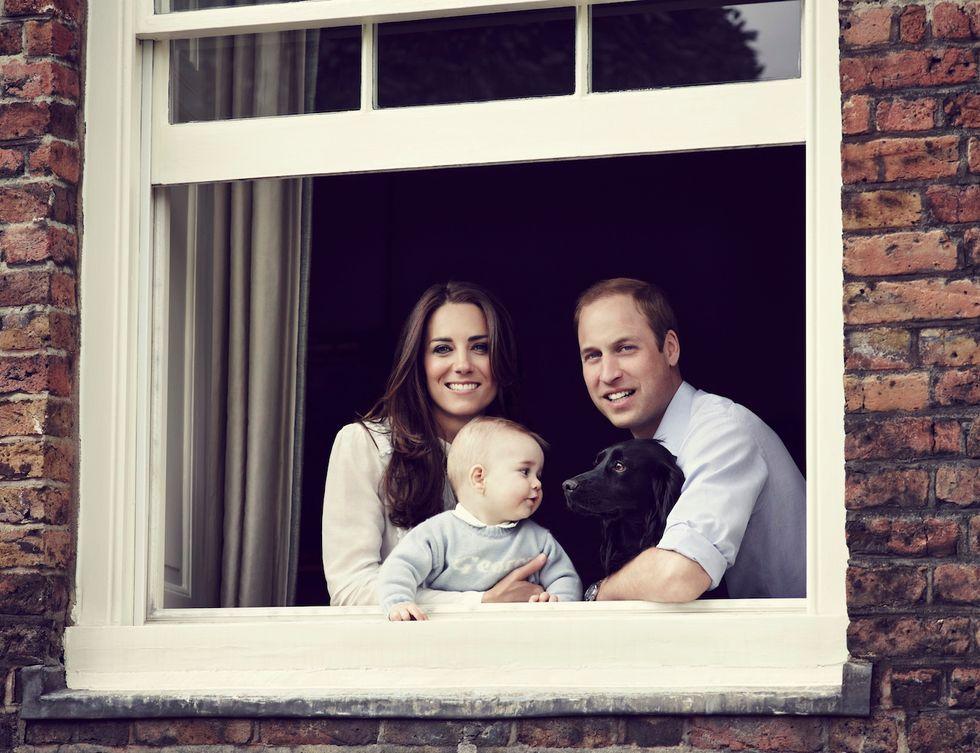 """Kate, William e George: ecco la foto """"perfetta"""""""