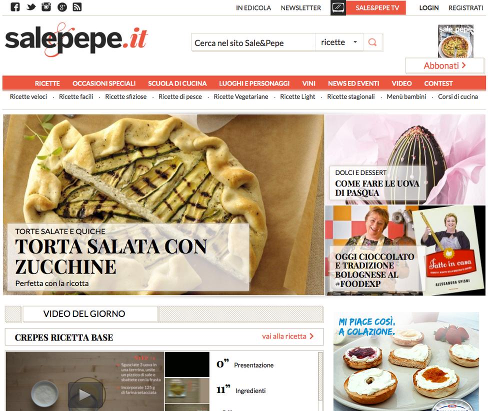 Salepepe.it: online il primo portale food di Mondadori