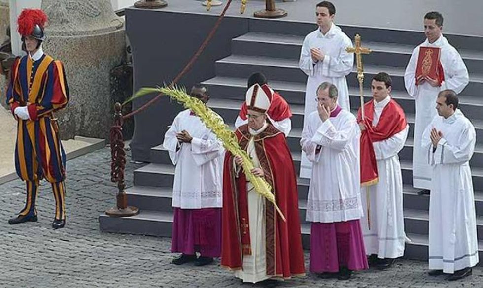 Ascolti 13/4: Papa Francesco superstar