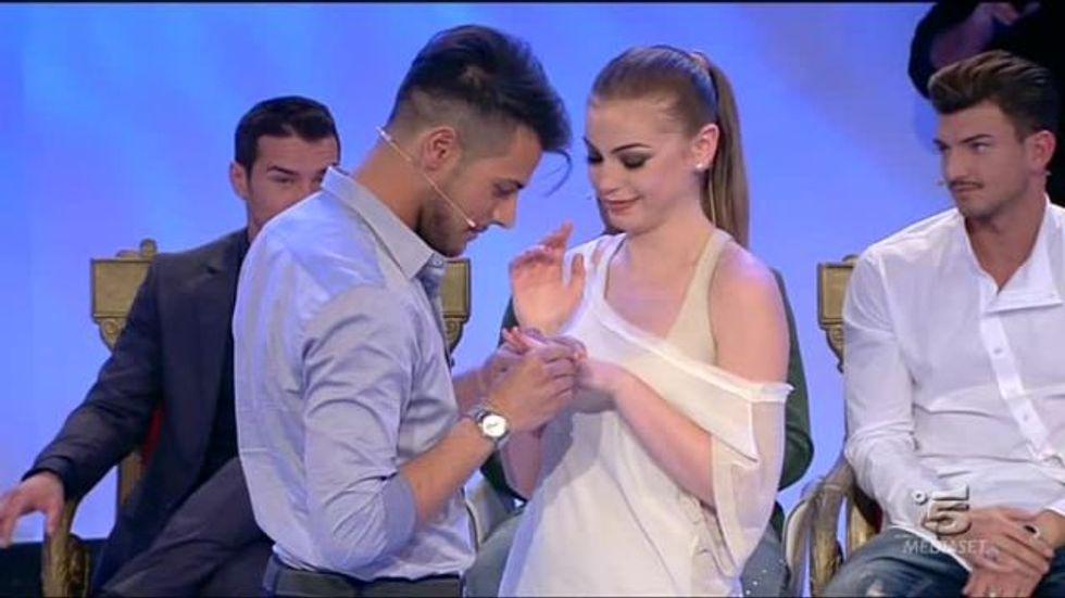 Uomini e Donne 2014, Aldo e Alessia si sono fidanzati ufficialmente