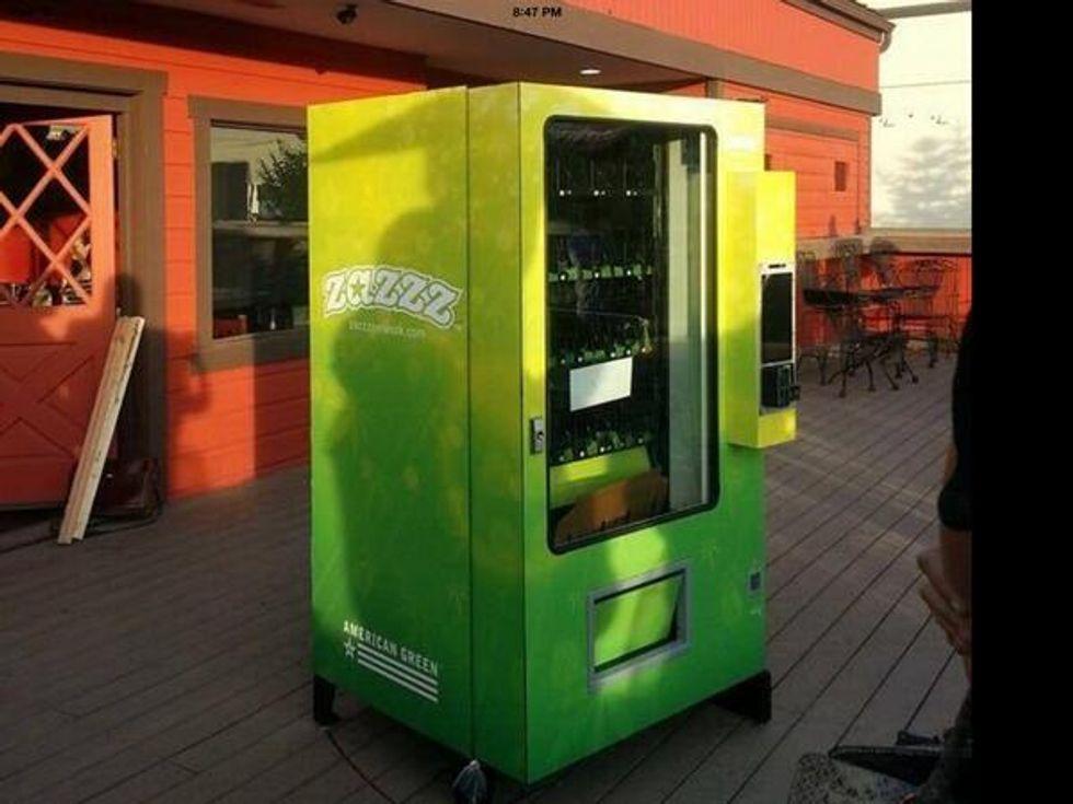 Arriva il distributore automatico di marijuana