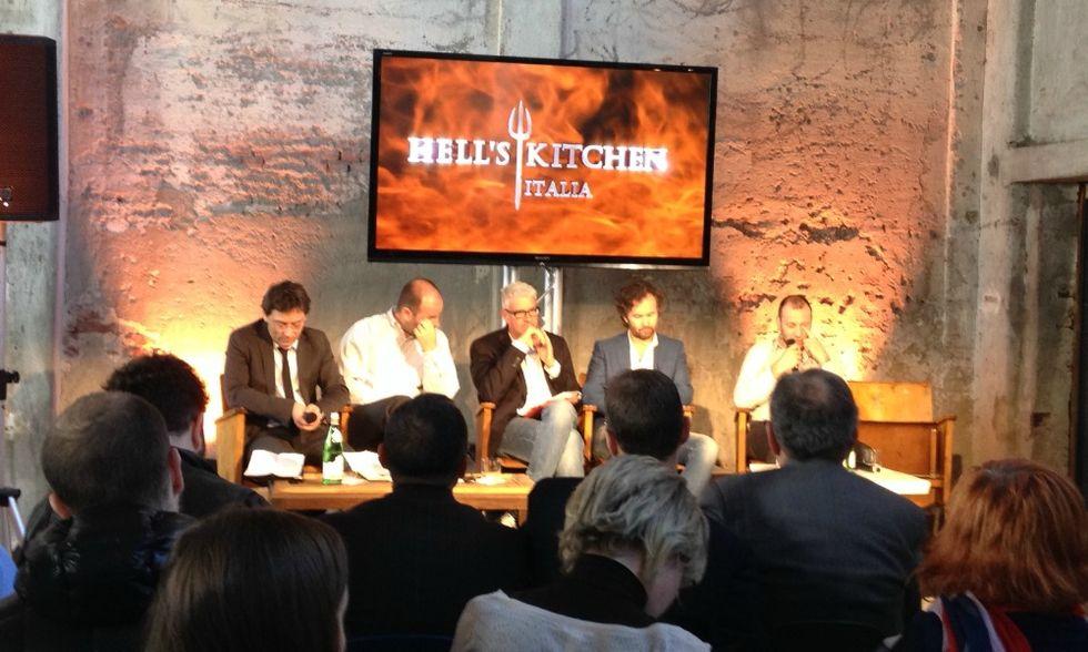 Hell's Kitchen arriva in Italia ed è subito Cracco show