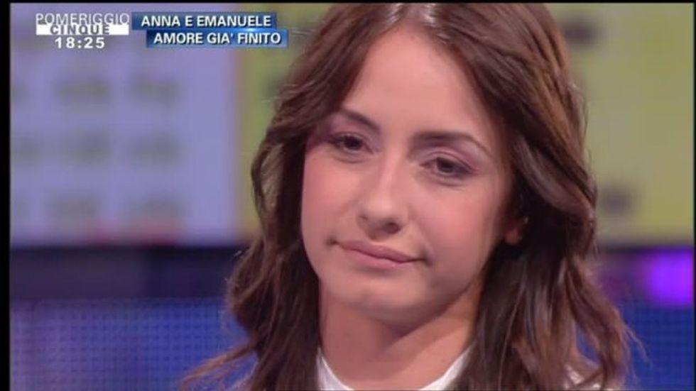 """Uomini e Donne. Anna Munafò: """"E' finita perché Emanuele pensava solo al lavoro"""""""