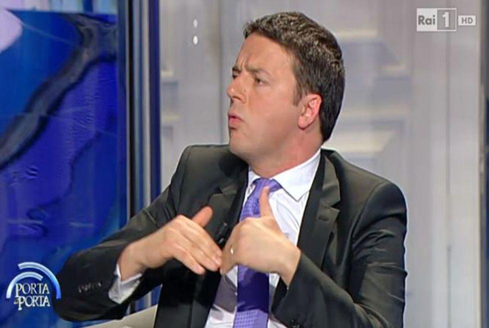 Ascolti 29/04: Renzi fa volare Vespa in seconda serata