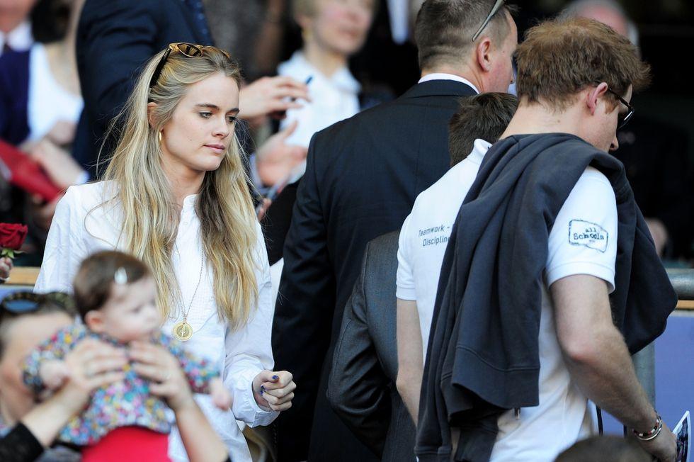 Cressida Bonas depressa dopo l'addio al Principe Harry
