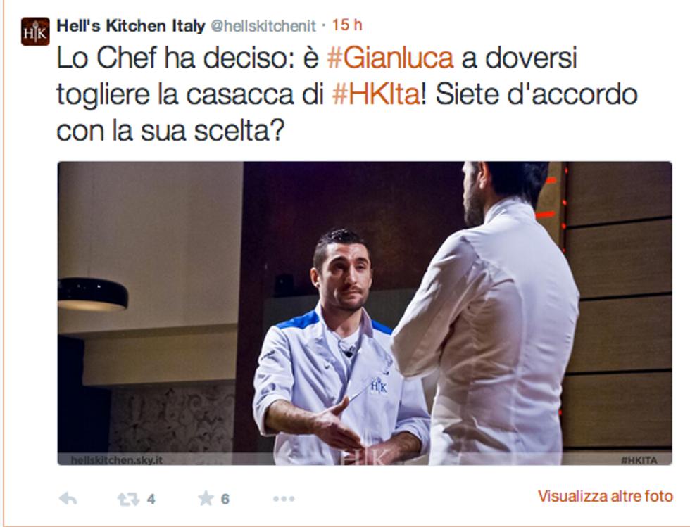 Hell's Kitchen Italia, si mischiano le carte e si stringe il cerchio