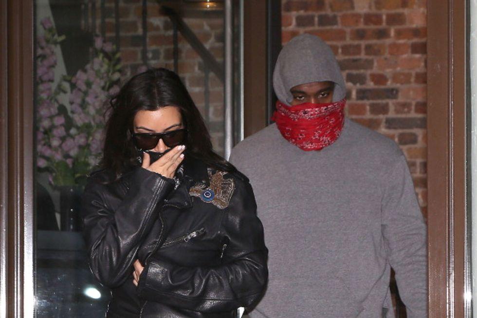 Kanye West e Kim Kardashian, follie di nozze