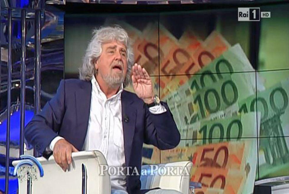 Ascolti 19/5: Grillo da record con Vespa