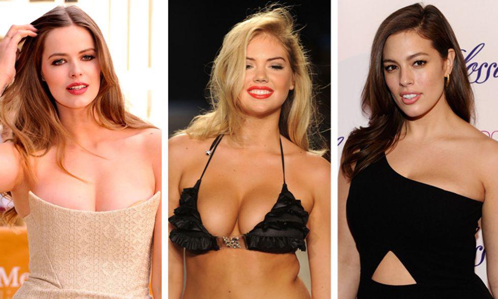 Modelle curvy, non c'è solo Kate Upton