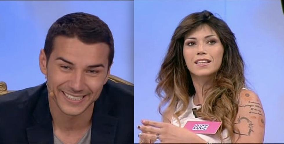 Uomini e Donne 2014: Luca Viganò ha scelto Luce