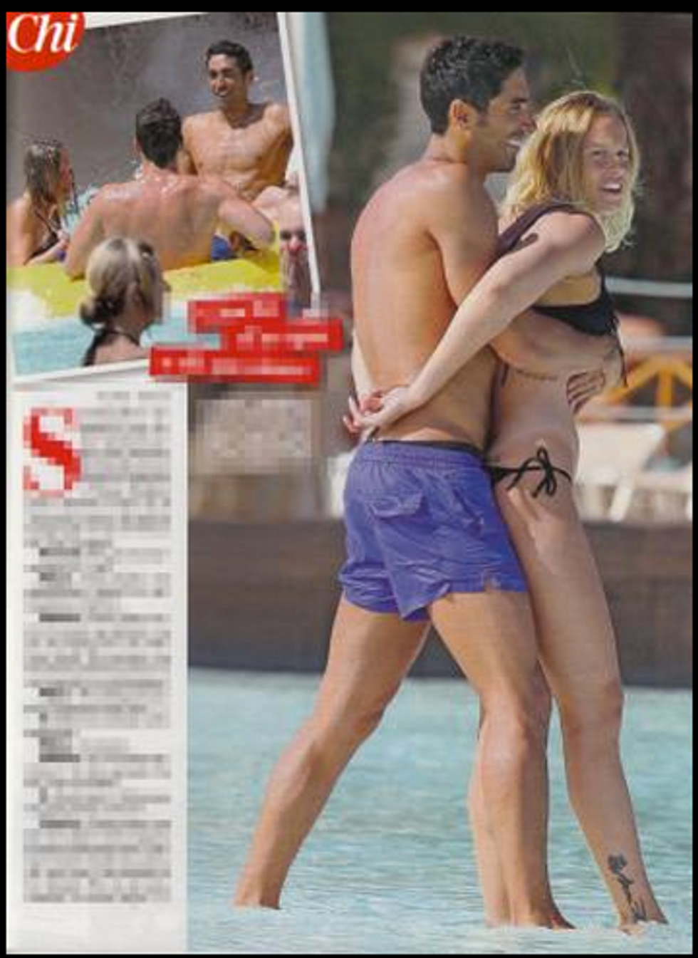 Federica Pellegrini e Filippo Magnini innamorati a Tenerife