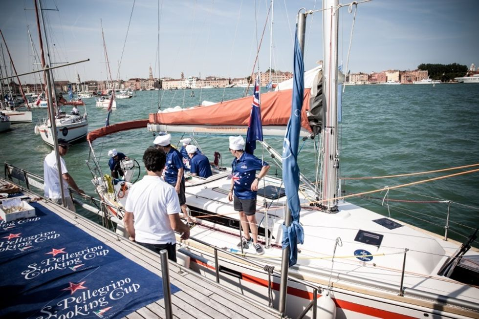 Food e vela, a Venezia la regata con sfida culinaria sottocoperta