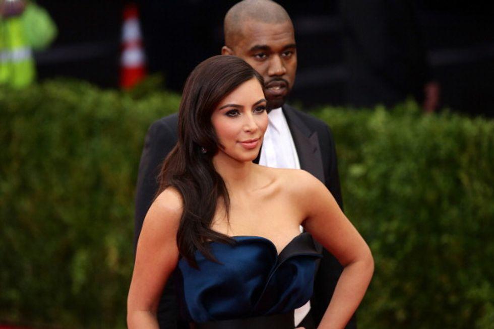 Kim Kardashian e il regalo (low cost) a Kanye West