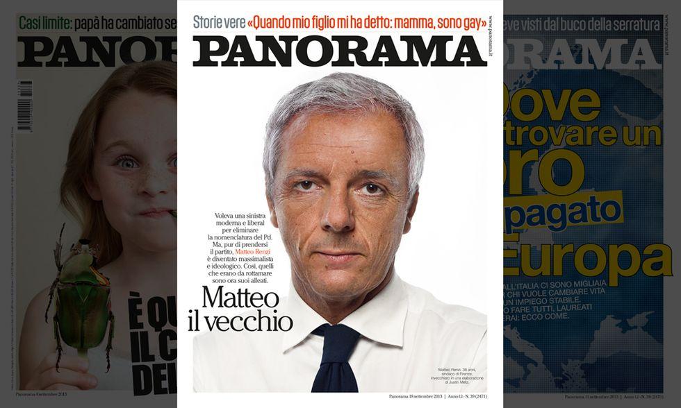 Panorama: Matteo Renzi, il vecchio
