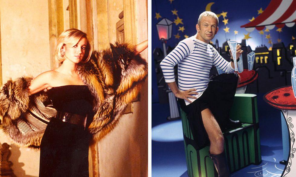 Silvia Venturini Fendi e Jean Paul Gaultier, due destini paralleli fra moda e creatività
