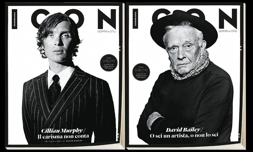 Icon, protagonisti David Bailey e Cillian Murphy. Leggi il numero online