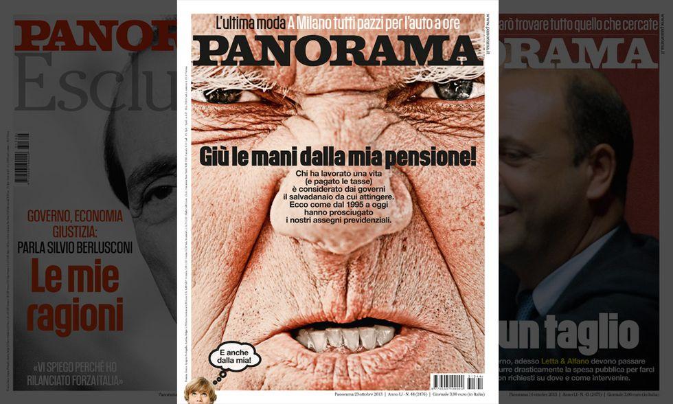 Panorama: giù le mani dalle pensioni!