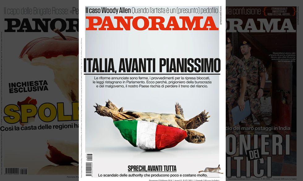 Panorama: Italia, avanti pianissimo