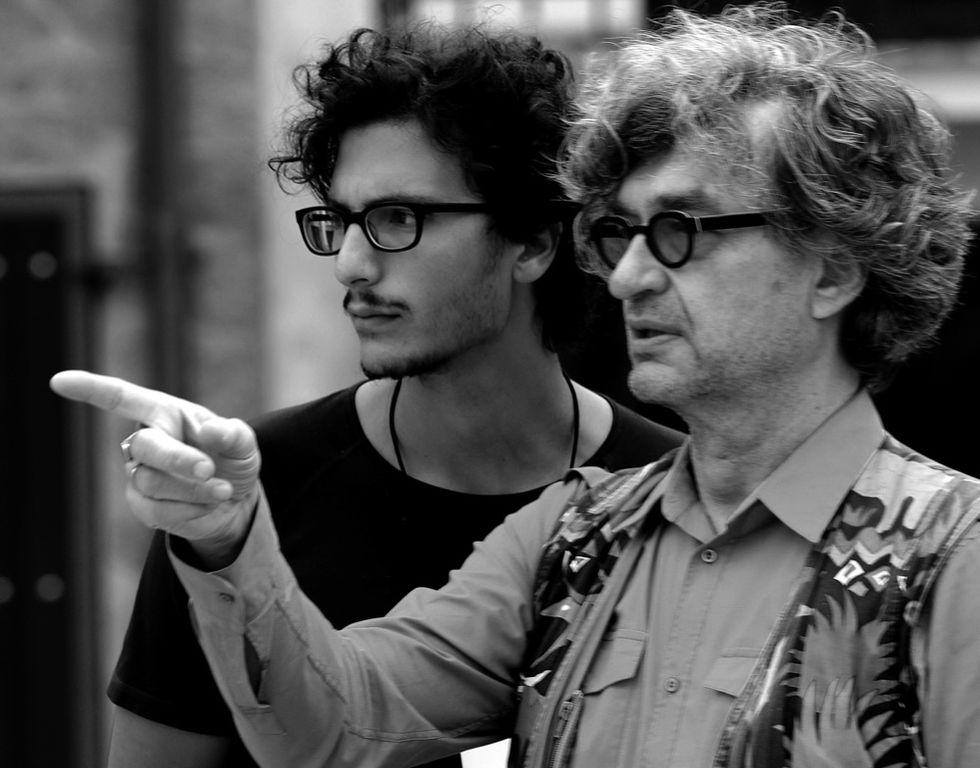 Mi ha voluto Wim Wenders: Luca Lucchesi racconta il suo incontro con il regista tedesco