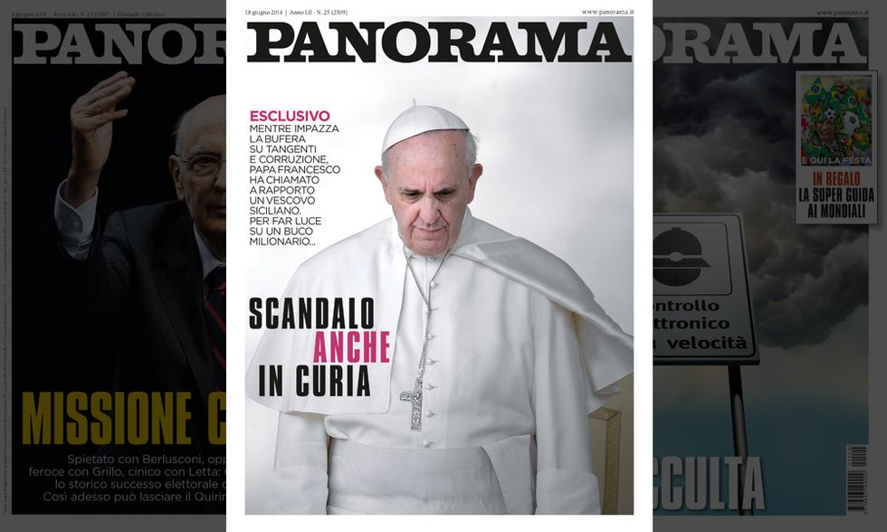 Panorama: Scandalo (anche) in Curia
