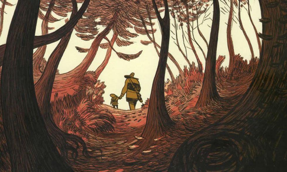 Il ritorno di 'Tre ombre', la graphic novel di Cyril Pedrosa