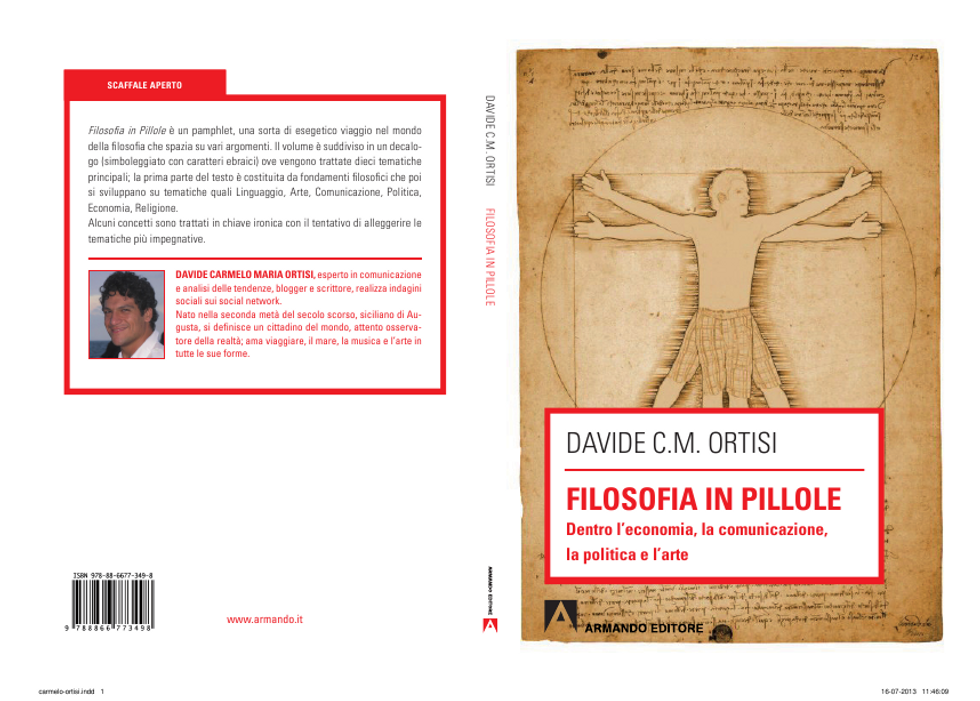 Filosofia in pillole di Davide Ortisi