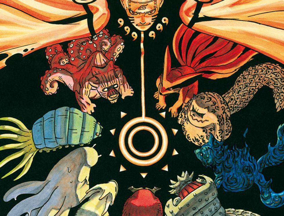 Naruto, le ultime copertine