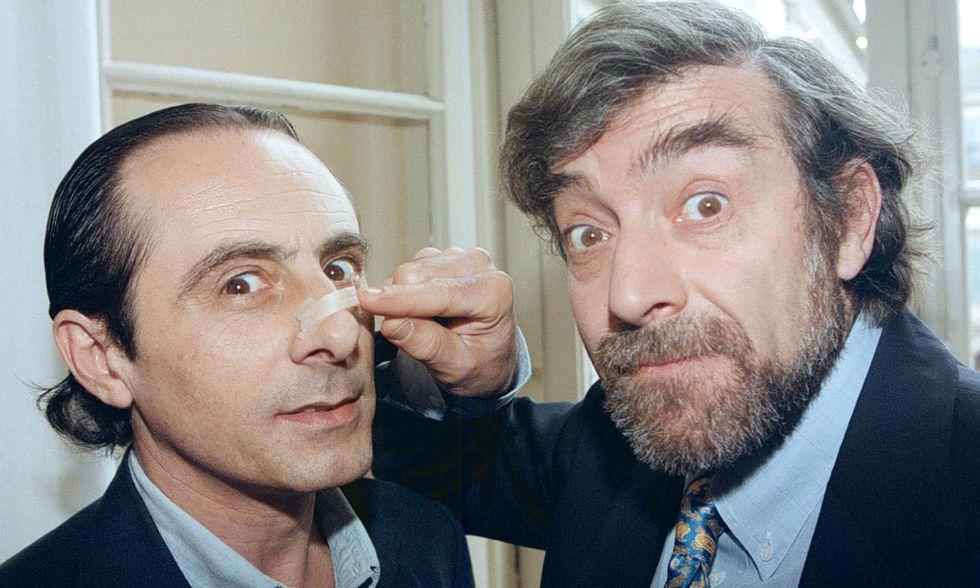 Addio a Zuzzurro, il commissario stralunato in coppia a Gaspare - I video