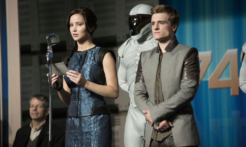 Hunger Games: La ragazza di fuoco, lo streaming della première di Roma